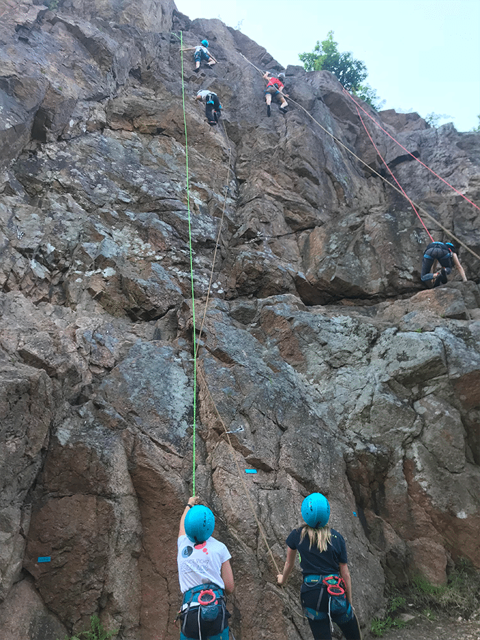 Sortie escalade jeunes chatel montagne darots